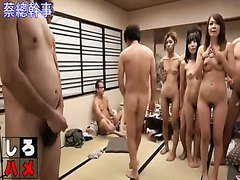Japanese group sex game - part 3