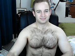 Muscular Blonde Guy on Cam 1