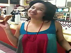 Kinky amateur exposes her hairy armpits
