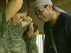 Japanese soldier babes get pounded hard