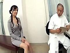 Beautiful doll receives a kinky massage