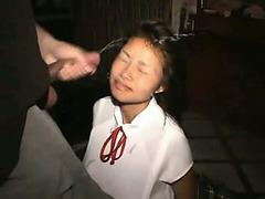 Endearing Thai Go-Go girl receives a nasty facial