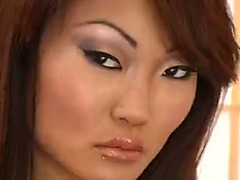 Attractive Asian babe enjoys rough anal shagging