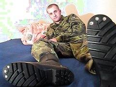 Soldier's feet