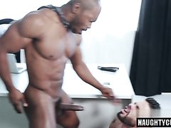 gigantic black guy fuck whit ass bareback