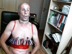 olibrius71 clamps nipples, bondge, prolpse