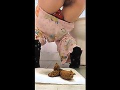 Girl-next-door is pooping for me - part 5
