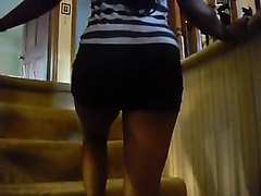 Ebony nasty farts before date