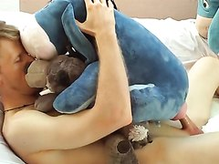 extreme hot soft toy fuck - furry - teddy - kiss