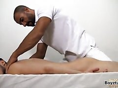 Older man massage and fuck