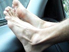 Jake's dashboard feet