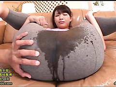Japanese girl squirting