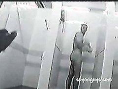 Public Shower Erection Spy