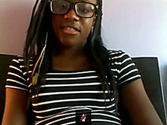 Black teen webcam girl in hot masturbation porn