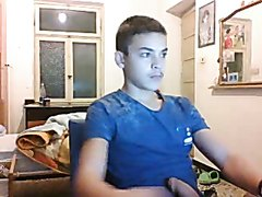 Italian cute boy on webcam