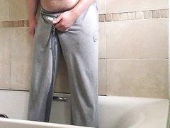 Young Cub Wets His Sweatpants