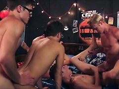 Helix - Group Party Fuck Scene