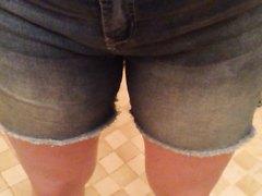 My babygirl peed her pants