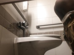 spy cam in public toilet - video 3