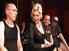 German sluts used by guys in wild gangbang porn