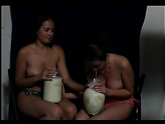 topless milk challenge