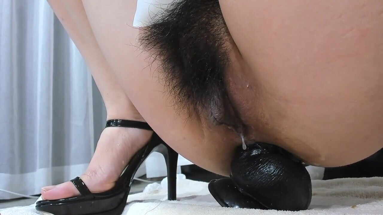 Asian Messy Anal