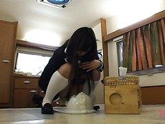 Japanese girl 6hr scat movie part3