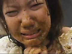 Extreme Jap scat, piss, shit eating, vomit, puke