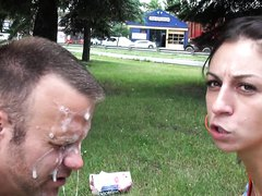 Heavy Face Spitting from 2 Mistress's