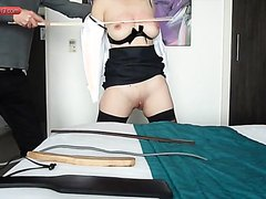 19 yr old slave7-Training the slut to take pain