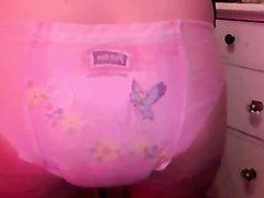 Pull Ups Diaper Girl Poop