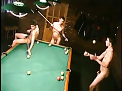 PROOF YOU DON'T NEED CLOTHES TO PLAY SNOOKER YOUNG TEEN BOYS NAKED
