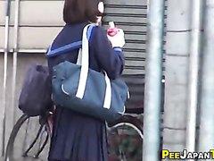 Hidden cam - Teen  Peeing and Masturbating In Toilet  3