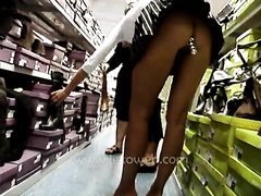 Shopping With A ButtPlug
