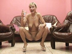 Swallowing piss - video 2