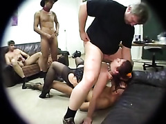 Kinky amateur slave girl submits for their pleasure