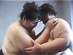 Japanese sumo women wrestling in panties
