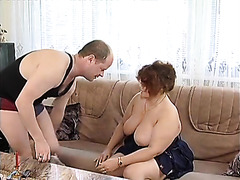 Chubby milf is an incredible cocksucking slut