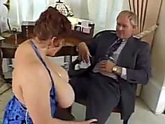 Glamorous BBW in corset fucked by stiff cock