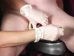 Mistress Lena clothespins CBT and Femdom