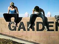Amateur Girls Puking at a public park (1)