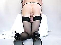 SHEMALE- Handsfree Cumming