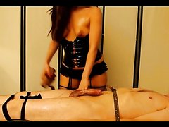 Cum delevering of my slave Teddy