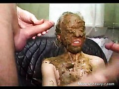 extreme scat with smearing
