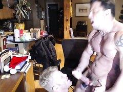 Webcam #1 - douchebag muscle bros j/o and fuck