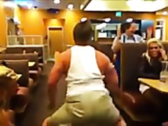 Twerking at ihop