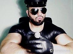 Muscular Leather Smoke