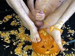 Pumpkin Play on Halloween