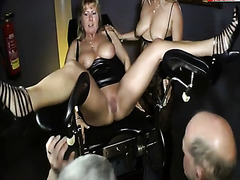 In The Mouth And On The Cocks