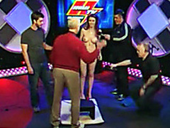Pornstar squirts on the Howard Stern show